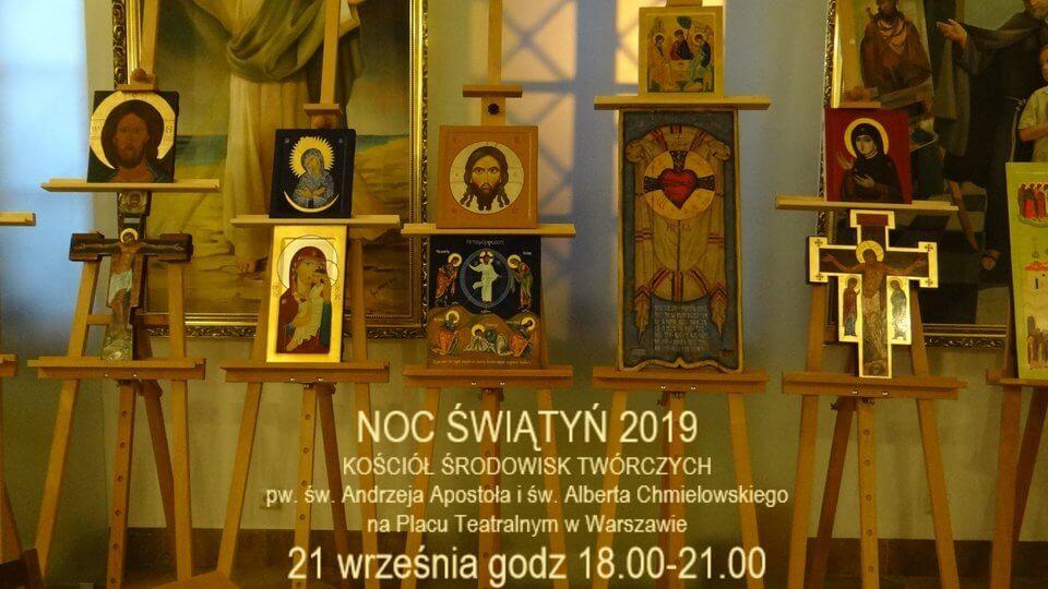 Akademia Ikony w Warszawie - wystawa ikon w Noc Świątyń 2019