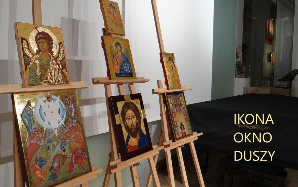 Akademia Ikony w Warszawie - wystawa ikon pod tytułem IKONA - OKNO DUSZY 2019