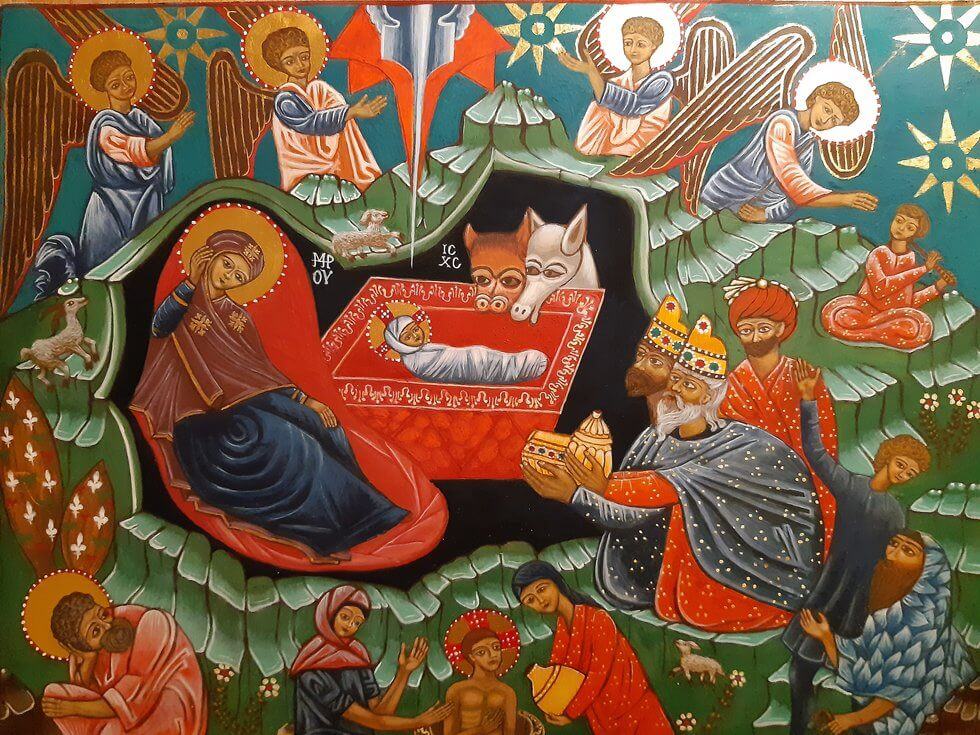 Akademia Ikony - ikona Bożego Narodzenia
