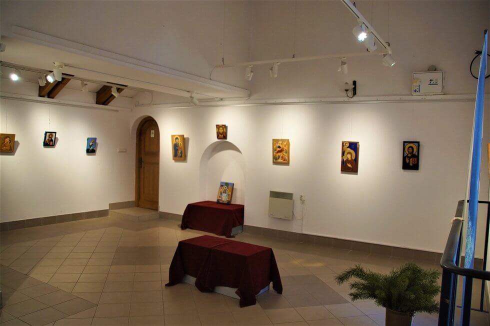 Akademia Ikony - wystawa w Galerii Wieża kościoła Wniebowstąpienia Pańskiego